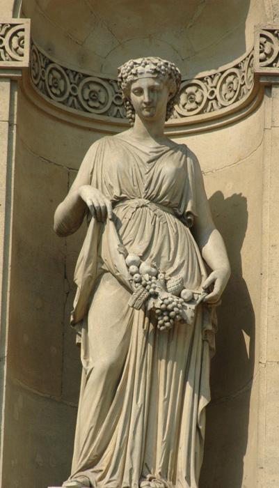 Pomone. Auguste Jean Barre