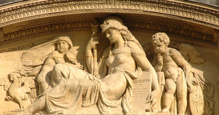 La Législation. Léon Héléna Bertaux