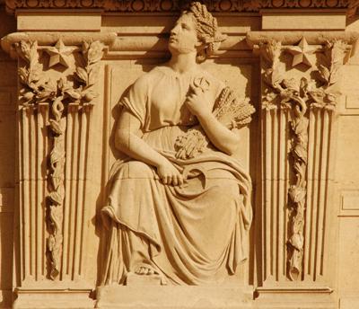 Bas-relief. Frédéric Louis Désiré Bogino
