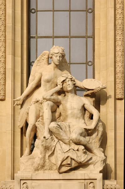 La Peinture. Alfred Boucher.