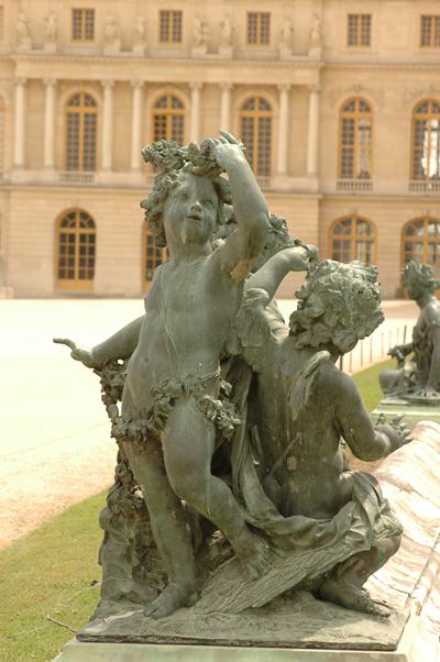 Enfants au cygne. Jacques Buirette et François Lespingola
