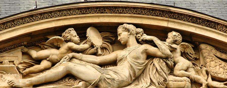 La Toilette de Vénus.  Jean Baptiste Paul Cabet.