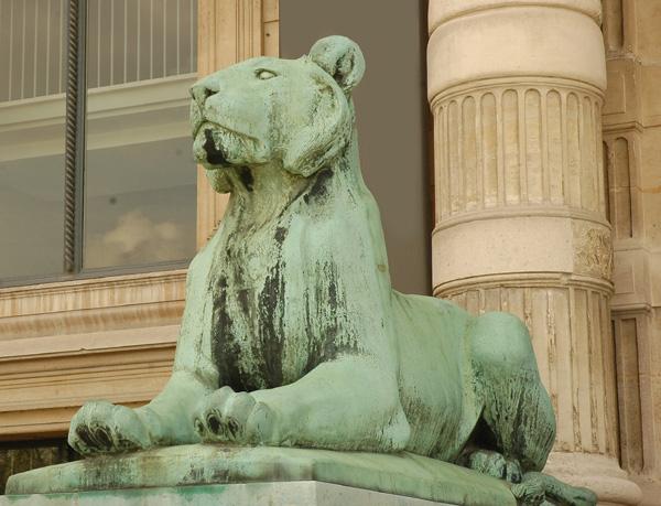 Lionne. Auguste Cain.