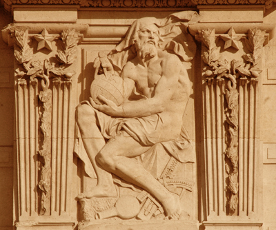 Bas-relief. Pierre Jules Cavelier.