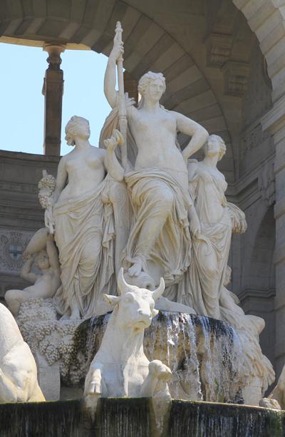 Le Triomphe de la Durance. Jules Cavelier.