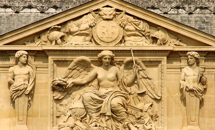 Renommées récompensant les Arts. Pierre Jules Cavelier