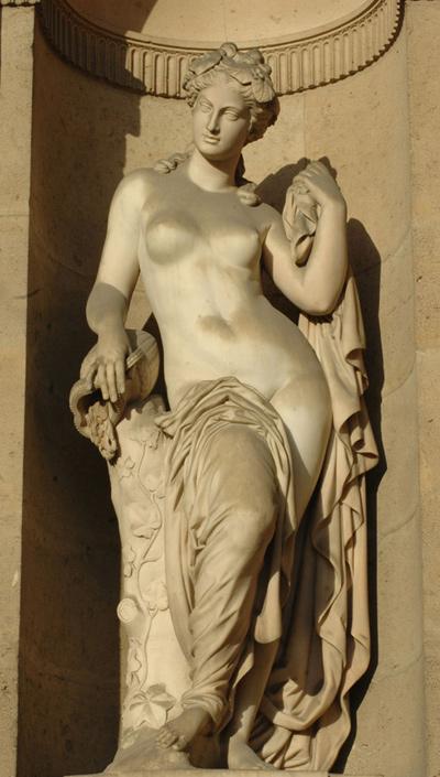 Nymphes des fontaines. Augustin Courtet.