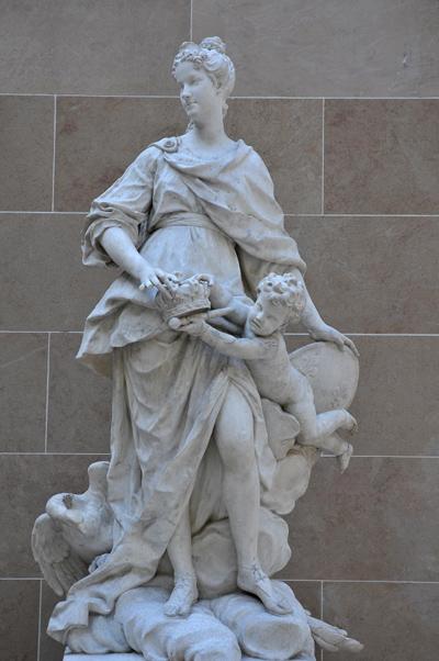 Marie Leszczynska. Guillaume 1er Coustou