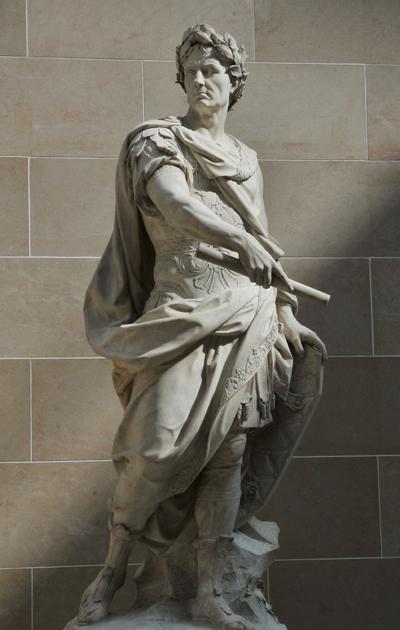 Jules César. Nicolas Coustou.