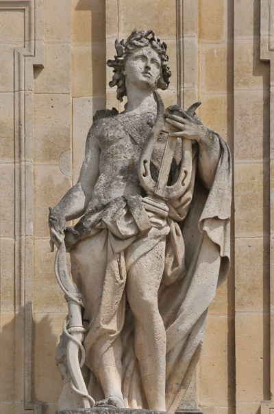 Apollon. Antoine Coysevox.