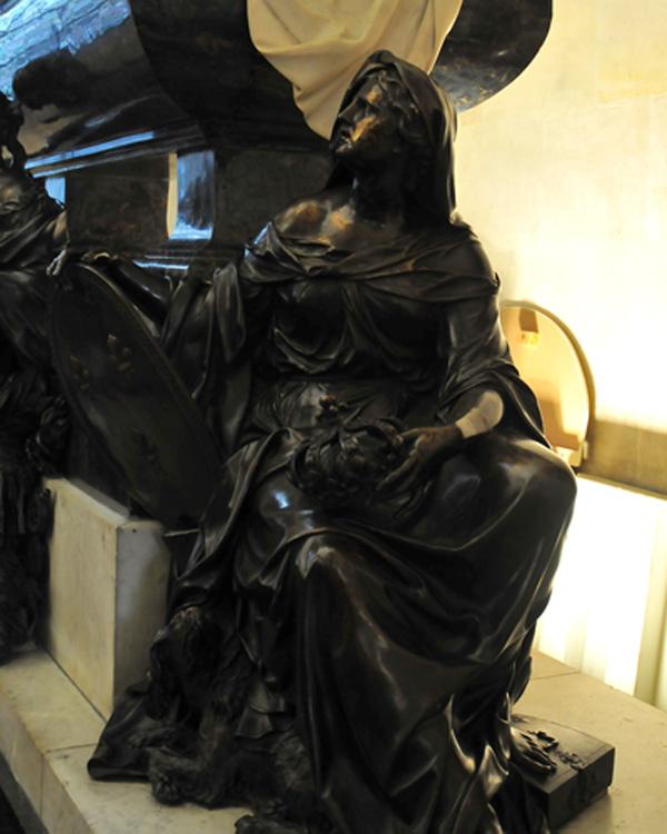 Monument Mazarin. La Fidélité. Antoine Coysevox