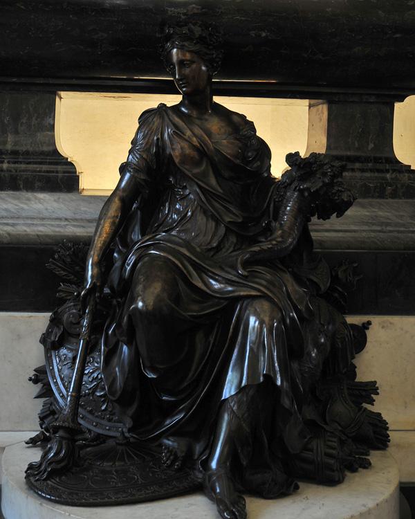 Monument Mazarin. La Paix. Antoine Coysevox.