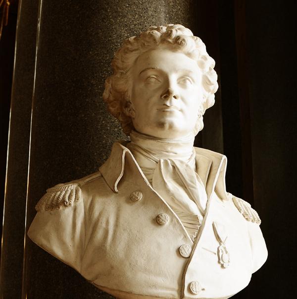 Vicomte Noailles, général de brigade. Antoine Laurent Dantan