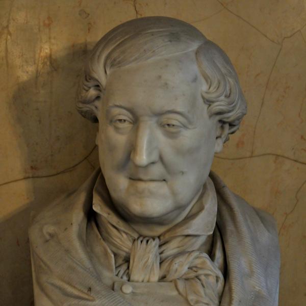Rossini. Jean Pierre Dantan.