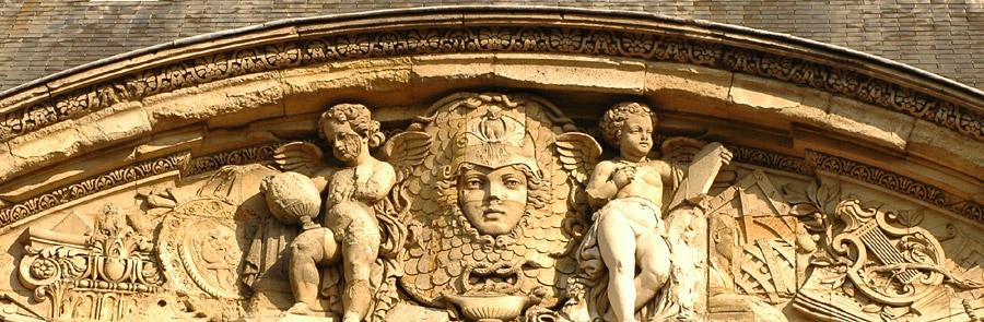 Tête de Pallas. Paul et Numa Lechesne, Delafontaine