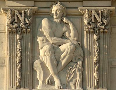 Bas-relief. Eugène Delaplanche