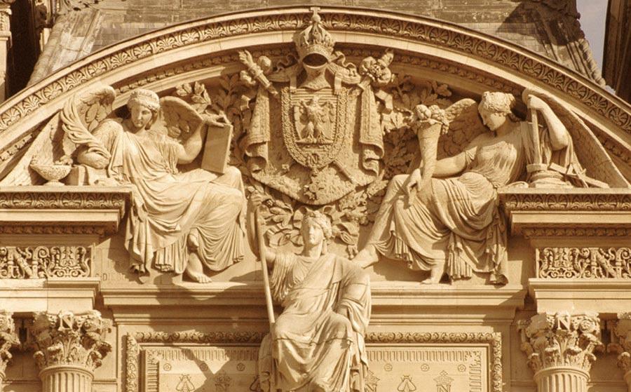 France assise au dessous des armes impériales ... Georges Diébolt