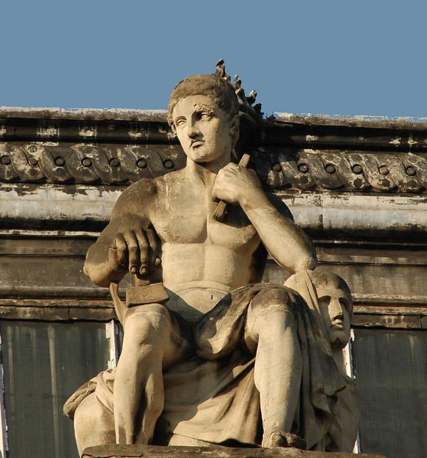 La Sculpture. Augustin Dumont.