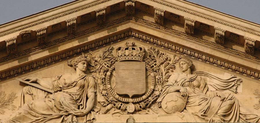 Les Armes de l'Empire. Auguste Félix Fortin.