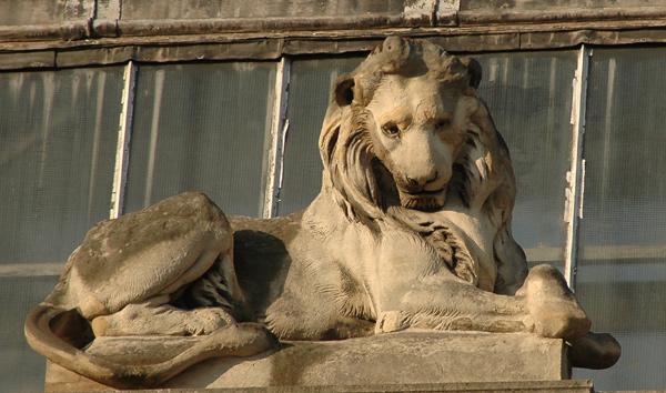 Lion. Emmanuel Frémiet.