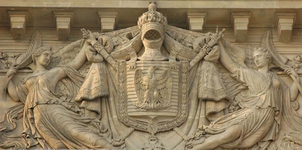 Le Courage civique et la Gloire. Théodore Charles Gruyère