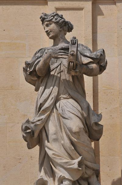 Terpsichore. Jacques Houzeau ou Jean Baptiste Tuby.