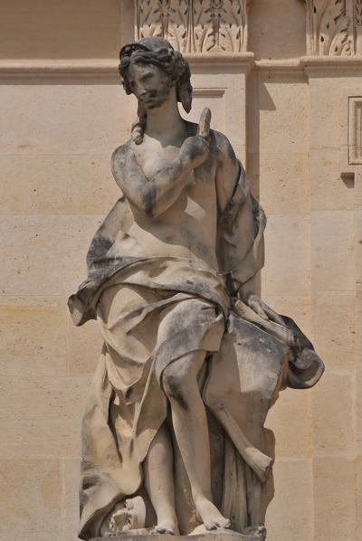 Thalie. Jacques Houzeau ou Jean Baptiste Tuby.