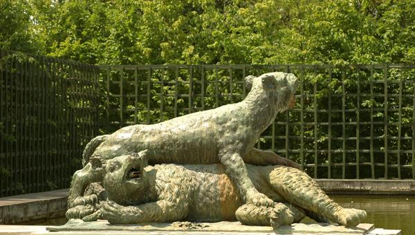 Tigre et ours. Jacques Houzeau.