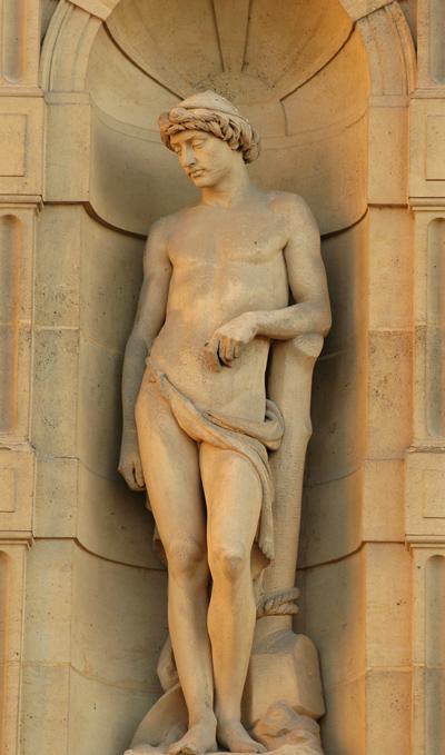 Le Laboureur. Charles François Iguel.