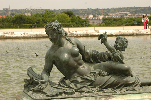 Nymphe. Pierre 1er Legros.