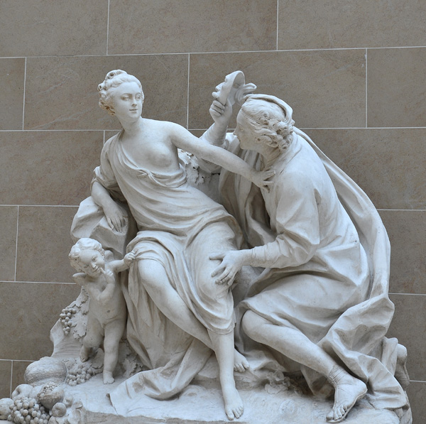 Vertumne et Pomone. Jean Baptiste II Lemoyne.