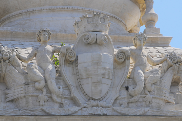 Les armes de Marseille. Eugène Louis Lequesne