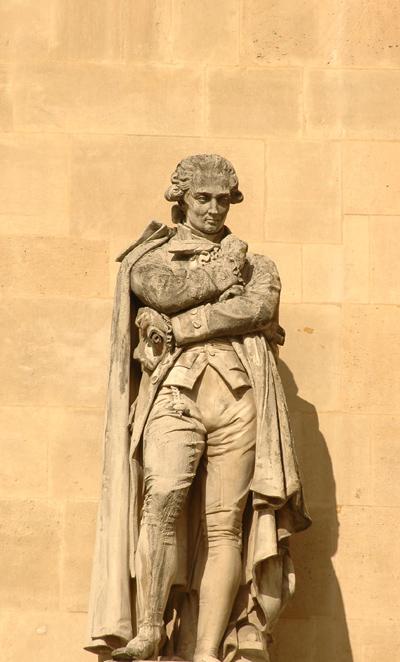 Lavoisier. Jacques Léonard Maillet.