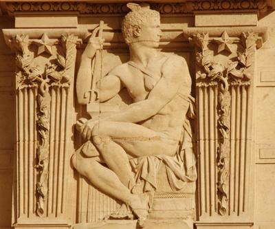 Bas-relief. Henri Charles Maniglier.