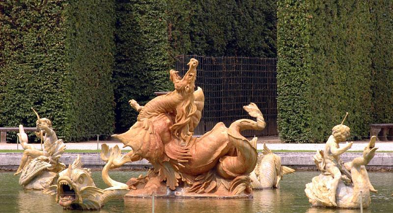 Bassin du Dragon. Gaspard et Balthazard Marsy