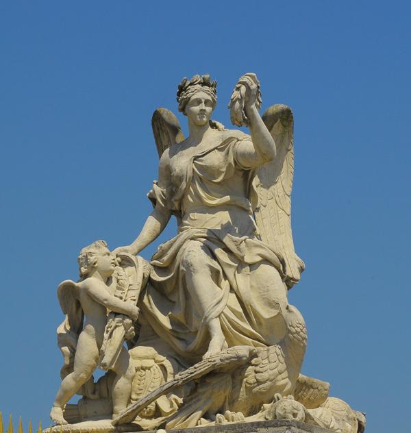 Victoire de l'Empire. Gaspard et Balthazar Marsy.