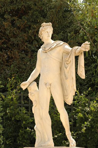 Apollon du Belvédère. Pierre Mazeline.