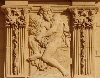 Bas-relief. Mathurin Moreau