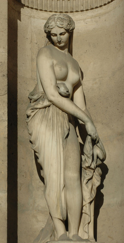 Campaspe. Auguste Ottin