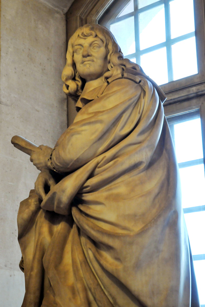 Descartes. Augustin Pajou.