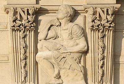 Bas-relief. Jean Joseph Perraud.