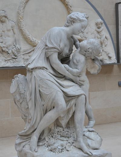 L'Amour et l'Amitié. Jean Baptiste Pigalle