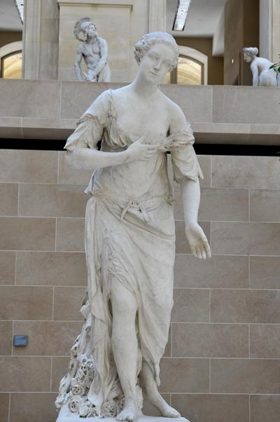 Madame de Pompadour en Amitié. Jean Baptiste Pigalle.