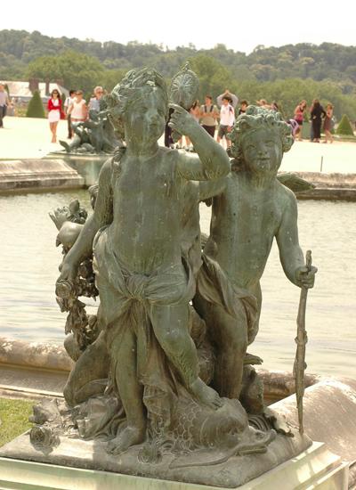 Enfants au miroir. Jean Baptiste Poultier.