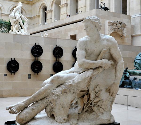 Hercule gaulois. Pierre Puget.