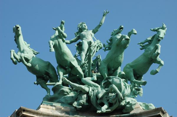 Harmonie dominant la discorde. Georges Récipon.