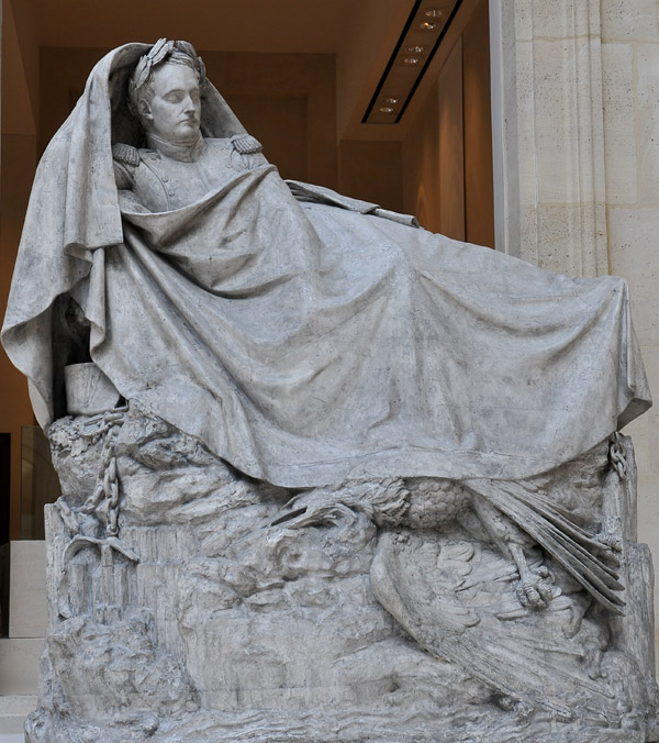 Le Réveil de Napoléon. François Rude.