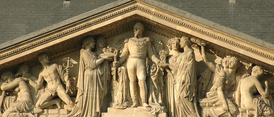 Napoléon III. Pierre Simart.