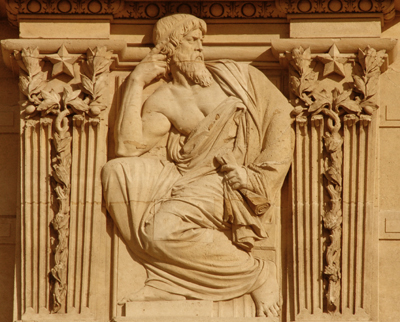 Bas-relief. Gabriel Jules Thomas