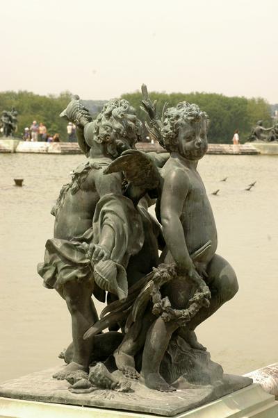 Enfants à la conque. Corneille Van Clève.